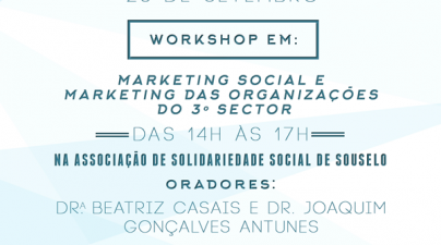 Convite Workshop Marketing Social