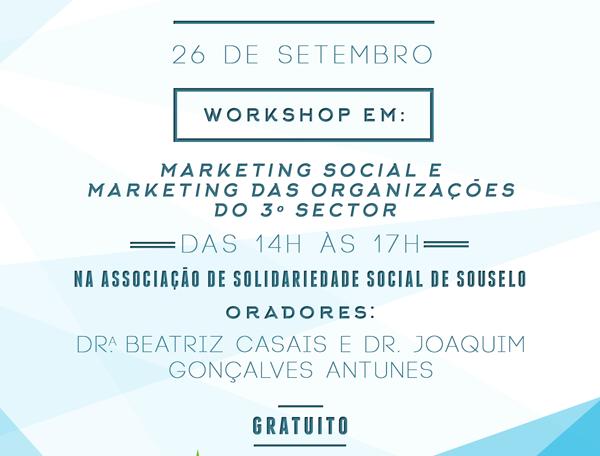 Convite Workshop Marketing Social